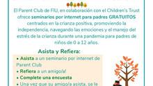 Parent Club @FIU *** Club de Padres @FIU