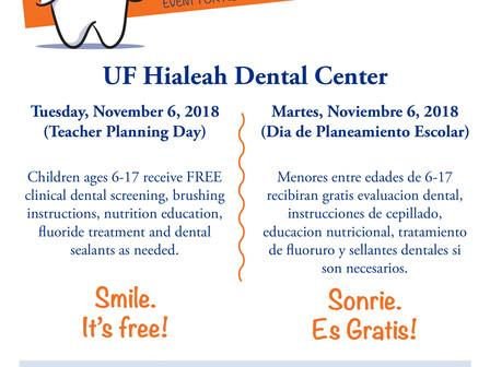 FREE Dental Check!                        Chequeo Dental GRATIS