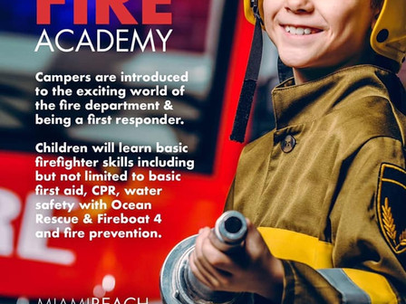 Junior Fire Academy July 15-19