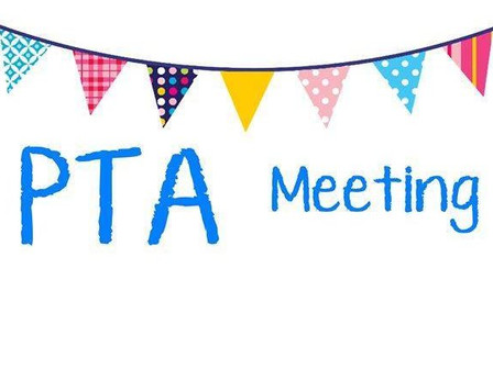 PTA Meeting Wed 14 March, 8:45 @ Media Center