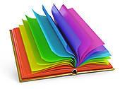 Books from the library / Libros de la biblioteca