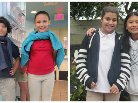 Congratulations to our Spelling Bee winners!
