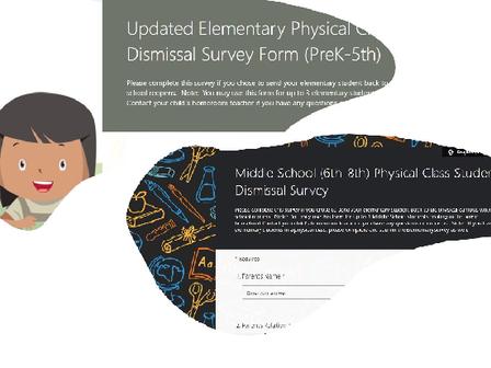 Survey: Please Respond If Sending Your Child To Face-To-Face Classes ***Por Favor, Responda Esta Imp