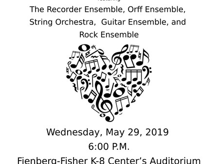 Spring Concert May 29, 2019