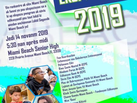 Elev Miami Beach Ekspozisyon 11/14/19