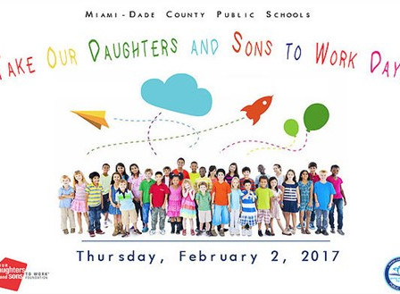 Take Your Daughters And Sons To Work Day on February 2, 2018!
