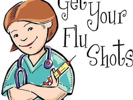 Flu Shots                                         Vacunas Contra La Gripe
