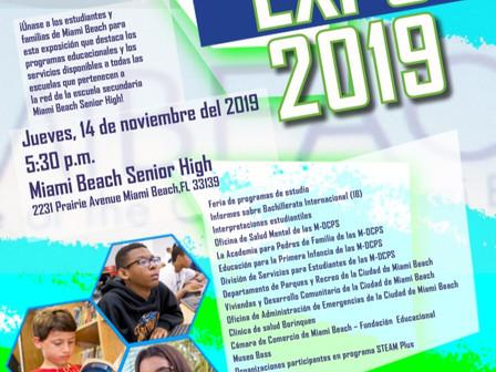 Expo de los Estudiantes de Miami Beach 11/14/19