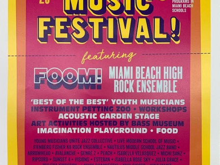 The FFK8 Rock Ensemble hits the Main Stage at 3:00 p.m. See you there!
