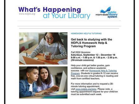 Help From The Public Library             Ayuda De La Biblioteca Pública