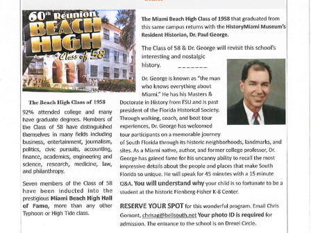 Come learn about the history of our school!