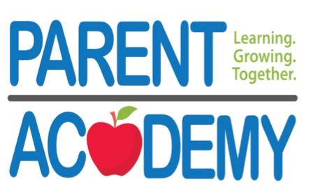 Parent Academy, September 28, 8:45-9:45