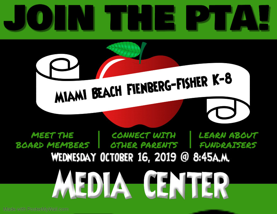 Join the PTA October 16th