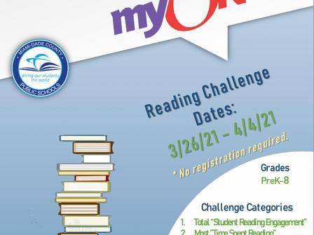 Spring Break myOn Reader Challenge