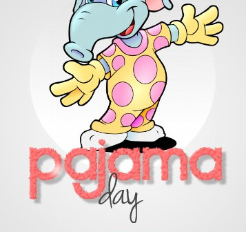 Oct 16 = Pajama Day