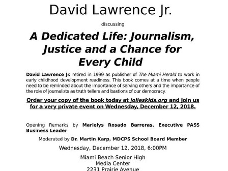 Journalism,Justice and a Chance for Every Child
