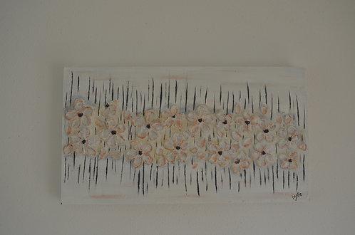 Copper Flowers 32x58