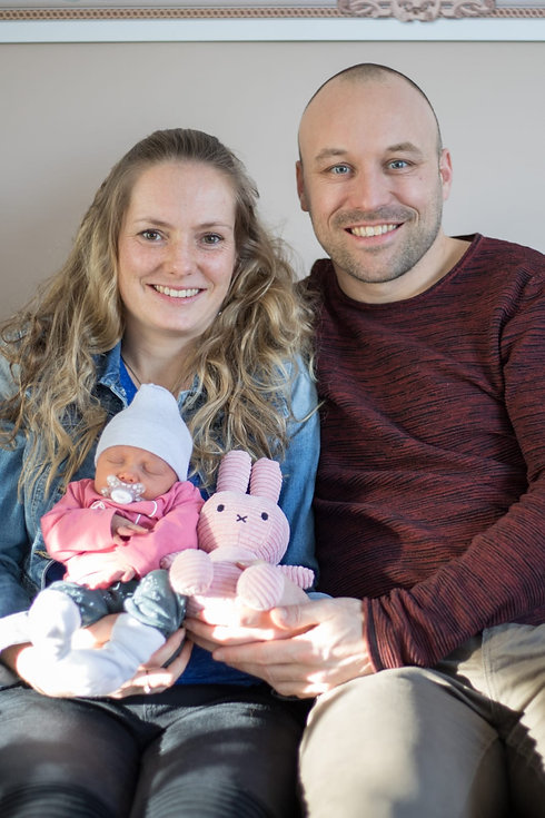 De Geboorte / Bevalling van Lynn