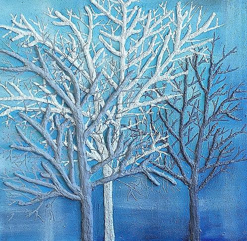 The Three Trees  61x61