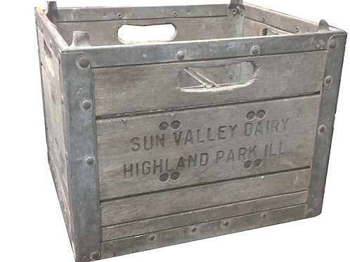 Sun Valley Dairy Crate