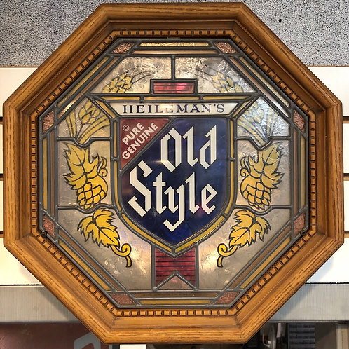 Heileman's Old Style Light Up Beer Sign