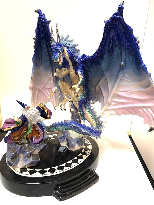 """Dragon Spell"" Franklin Mint Statue"