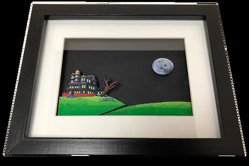 Maniac Mansion 3D Pixel Art Framed (Small)