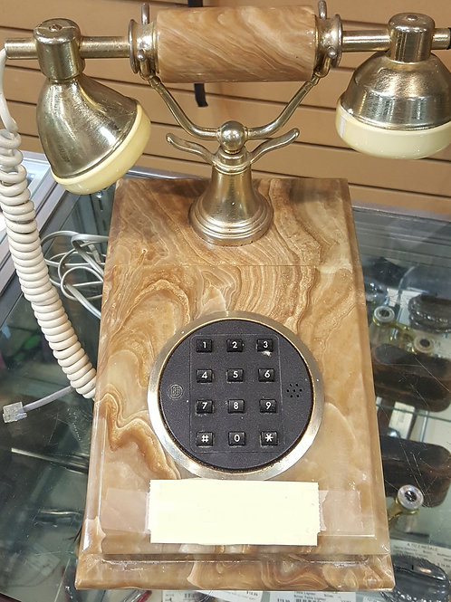 Antique Faux Marble Executive Phone