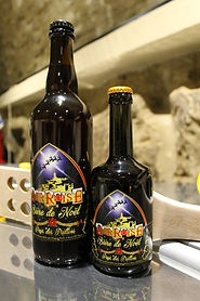 Bières ambrées de Noel