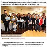 concours talents des vallées, lauréats, brasserie artisanales, alpes maritimes, 06, nice, berre les alpes