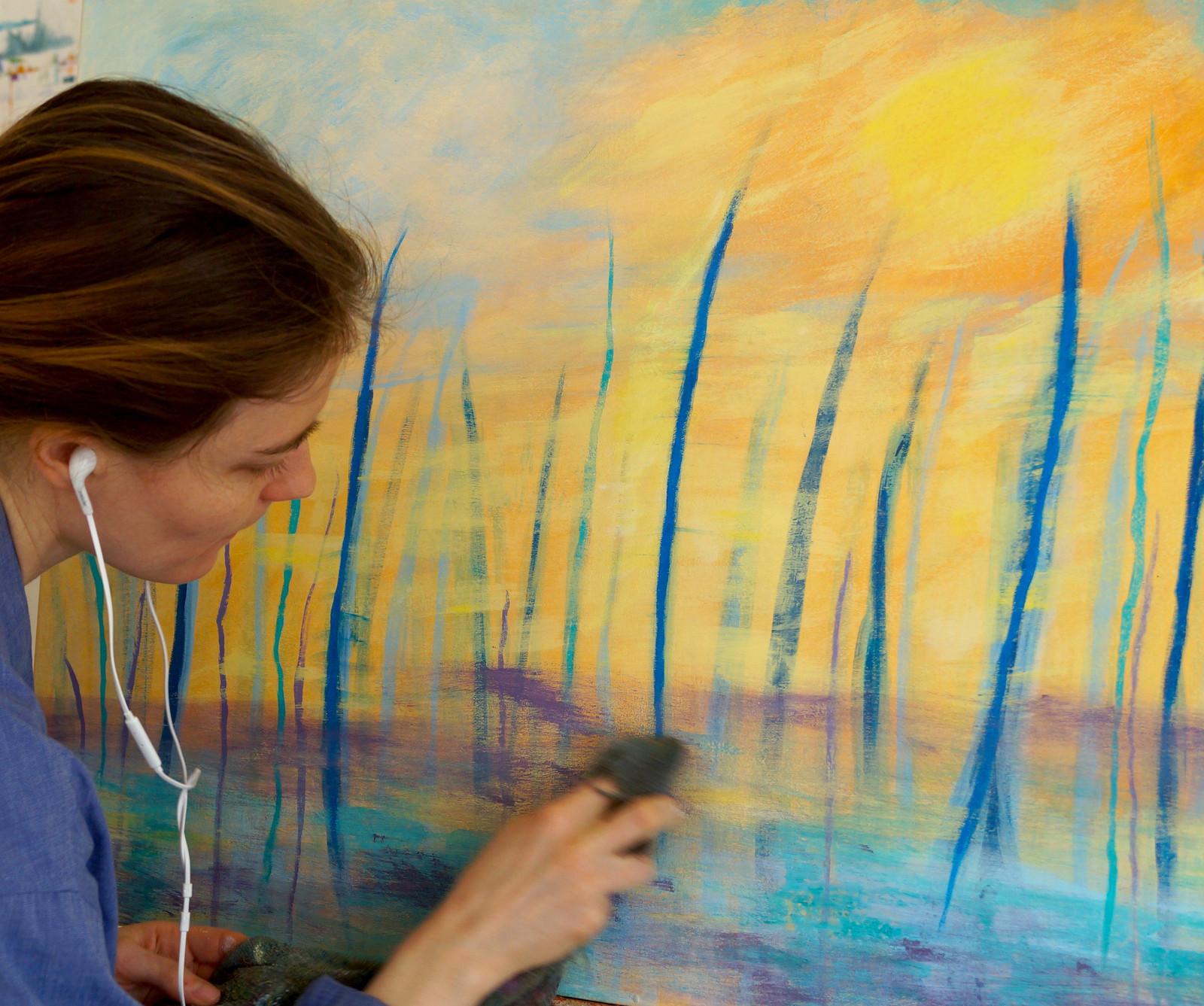 Cours Peinture Adulte Montréal Linfusart