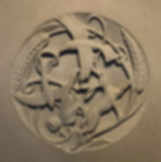 N Sculpture Studio Relief stone carving,