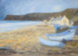 Penny McClean Winter Sun, Saltburn.jpg