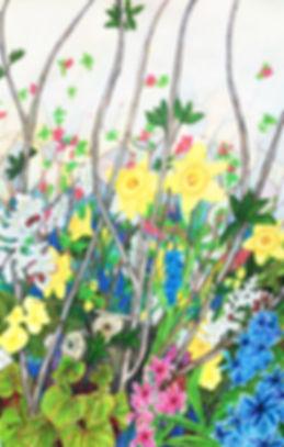 Joan Hudson- Spring Profusion - Acrylic&