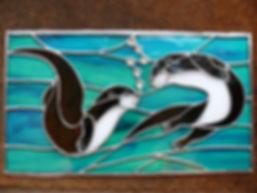 A. Newell. Otters panel.JPG