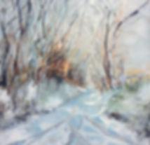Belinda Hazlerigg-snow tunnel 1 Huggate-