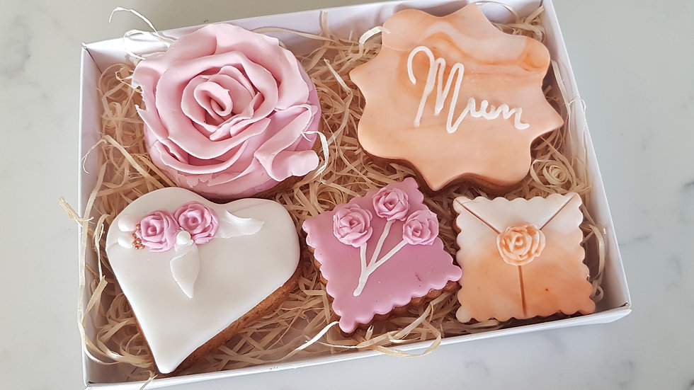 Mother's Day Iced Cookie Selection