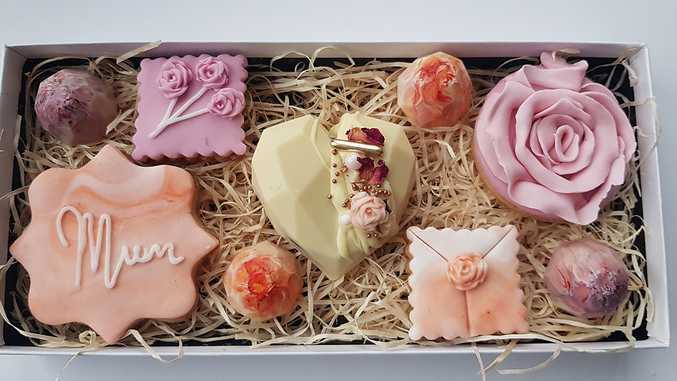 Mother's Day treat box with love
