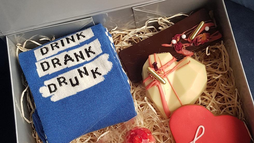 Mini man box with love!