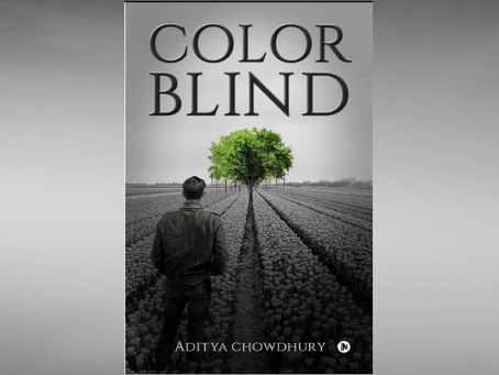 Book Review #32 : Colorblind by Aditya Chowdhury