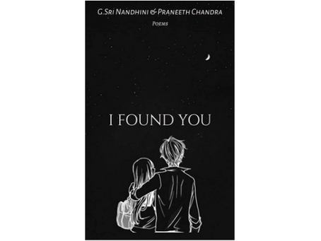 Book Review #202: I Found You by G.Sri Nandhini and Praneeth Chandra