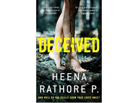 Book Review #133: Deceived by Heena Rathore Pardeshi