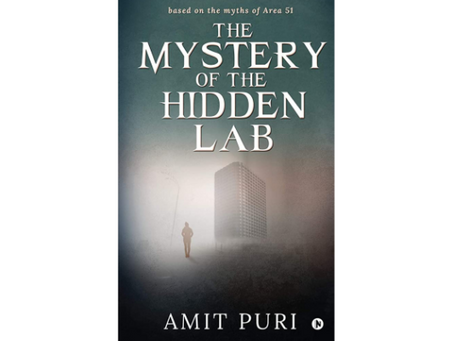 Book Review #129: The Mystery of The Hidden Lab by Amit Puri
