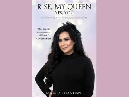 Book Review #31 : Rise My Queen, Yes You by Mamta Chandani