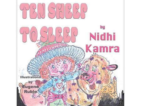Book Review #36 : Ten Sheep to Sleep by Nidhi Kamra