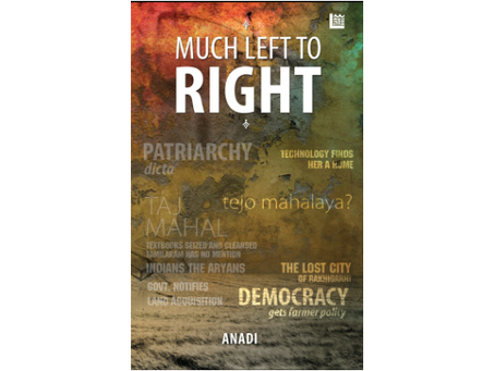 Book Review #182: Much Left to Right by Anadi