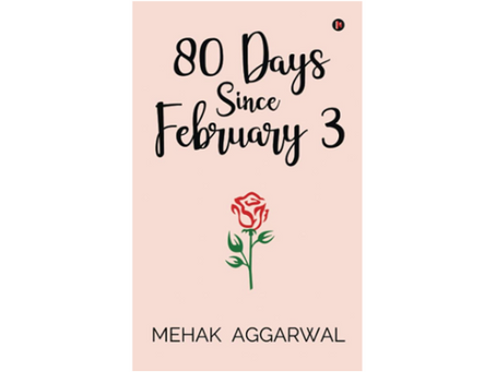 Book Review #198: 80 Days Since February 3 by Mehak Aggarwal