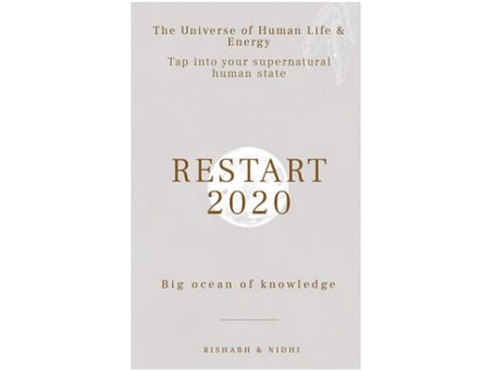 Book Review #171: Restart 2020 by Rishabh and Nidhi