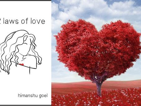 Book Review #38 : 52 Laws of Love by Himanshu Goel