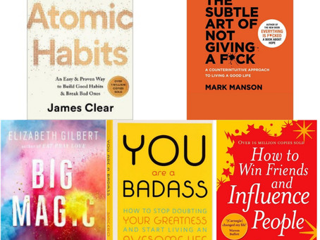 10 Must Read Self - Development books